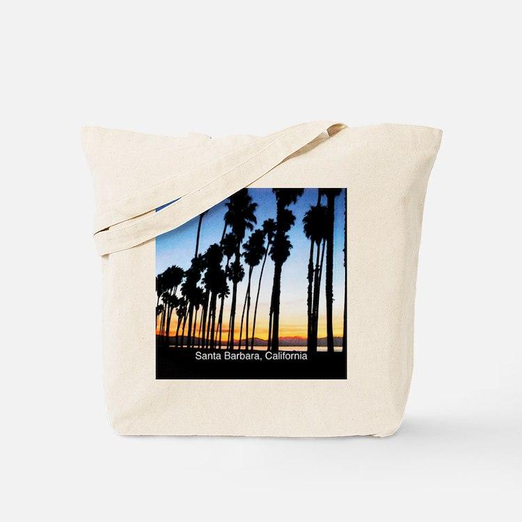 Sunset in Santa Barbara Tote Bag