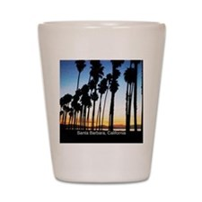 Sunset in Santa Barbara Shot Glass