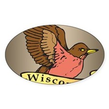 Wisconsin Robin Decal