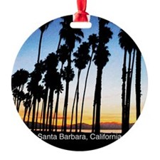 Sunset in Santa Barbara Ornament