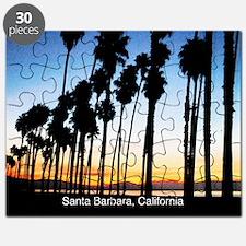 Sunset in Santa Barbara Puzzle