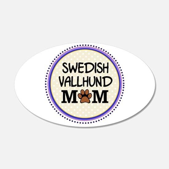 Swedish Vallhund Dog Mom Wall Decal