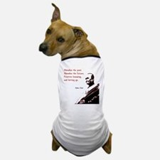 Practice Knowing And Letting Go Dog T-Shirt