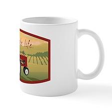 The simple life tractor farm - Color Mug