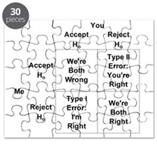 Type I and II Errors Puzzle