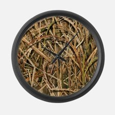 Great Camouflage Large Wall Clock