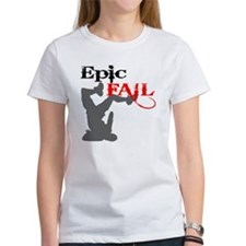 Epic Fail Type 2 on Light Tee