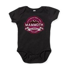Mammoth Raspberry Baby Bodysuit