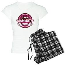 Mammoth Raspberry pajamas