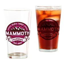 Mammoth Raspberry Drinking Glass