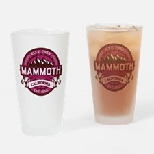 Mammoth Raspberry Drinking Glass