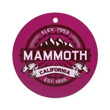 Mammoth Raspberry Ornament (Round)