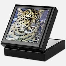 Amur Leopard Keepsake Box