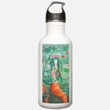 Lily Pond Mermaid Water Bottle