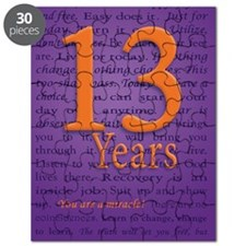 13 Year Recovery Birthday - You are a Mirac Puzzle
