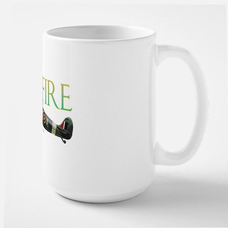 Beautiful Spitfire artwork on Large Mug