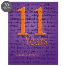 11 Year Recovery Birthday - You are a Mirac Puzzle