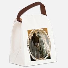 BCSCC Sasquatch Club Logo Canvas Lunch Bag