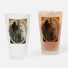 BCSCC Sasquatch Club Logo Drinking Glass