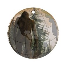 BCSCC Sasquatch Club Logo Round Ornament