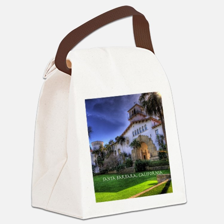 Courthouse Canvas Lunch Bag