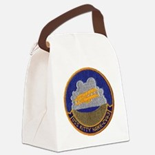 uss kitty hawk cv patch transpare Canvas Lunch Bag