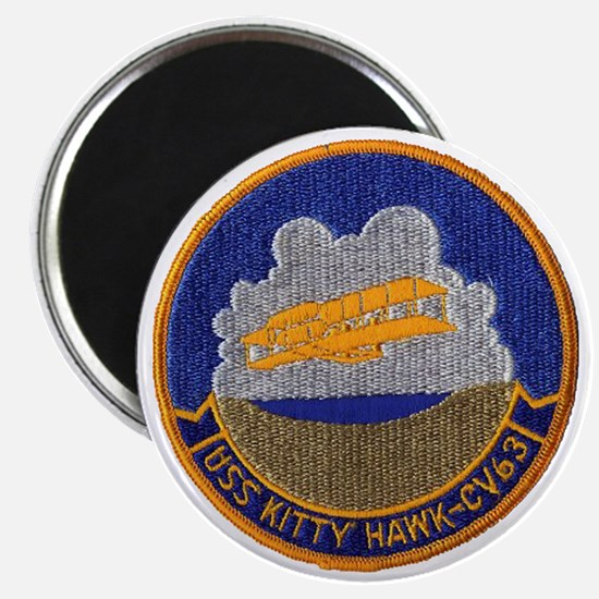 uss kitty hawk cv patch transparent Magnet