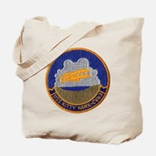 uss kitty hawk cv patch transparent Tote Bag