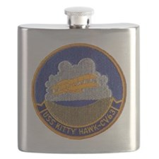 uss kitty hawk cv patch transparent Flask