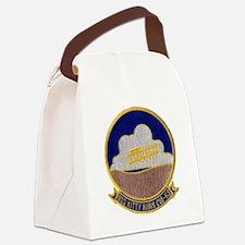 uss kitty hawk cva patch transpar Canvas Lunch Bag