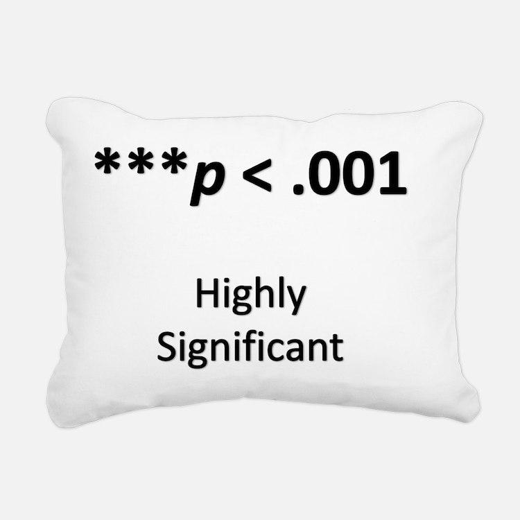 Path Analysis Rectangular Canvas Pillow