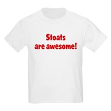 Stoats are awesome Kids T-Shirt