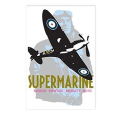Supermarine Spitfire and  Postcards (Package of 8)