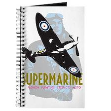 Supermarine Spitfire and Pilot on Journal