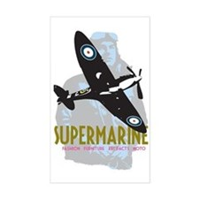 Supermarine Spitfire and Pilot Decal