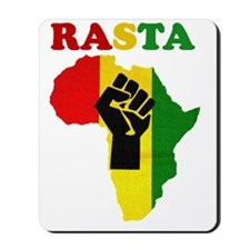 Rasta Black Power Africa Mousepad