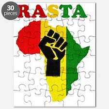 Rasta Black Power Africa Puzzle