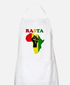 Rasta Black Power Africa Apron