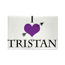 I Heart Tristan Rectangle Magnet
