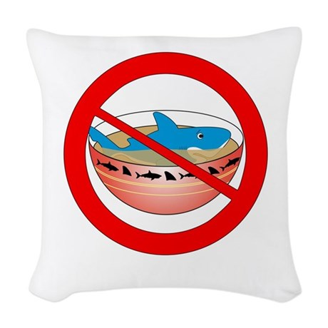 Extinction is Forever Woven Throw Pillow
