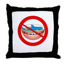Extinction is Forever Throw Pillow