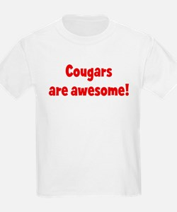 Cougars are awesome Kids T-Shirt
