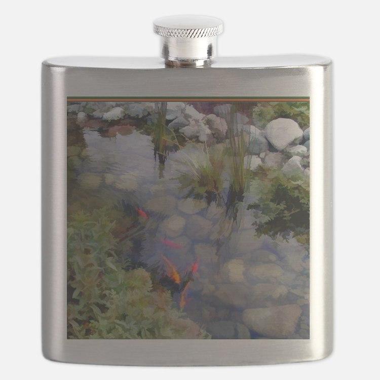 Koi Pond copy Flask