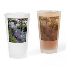 Koi Pond copy Drinking Glass