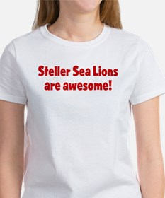 Steller Sea Lions are awesome Women's T-Shirt