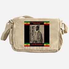 Haile Selassie I Jah Rastafari Messenger Bag