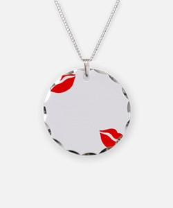 Kiss The Chef white Necklace