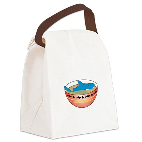 Not in my Soup Canvas Lunch Bag