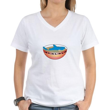 Not in my Soup Women's V-Neck T-Shirt