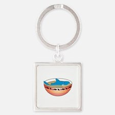 Not in my Soup Square Keychain